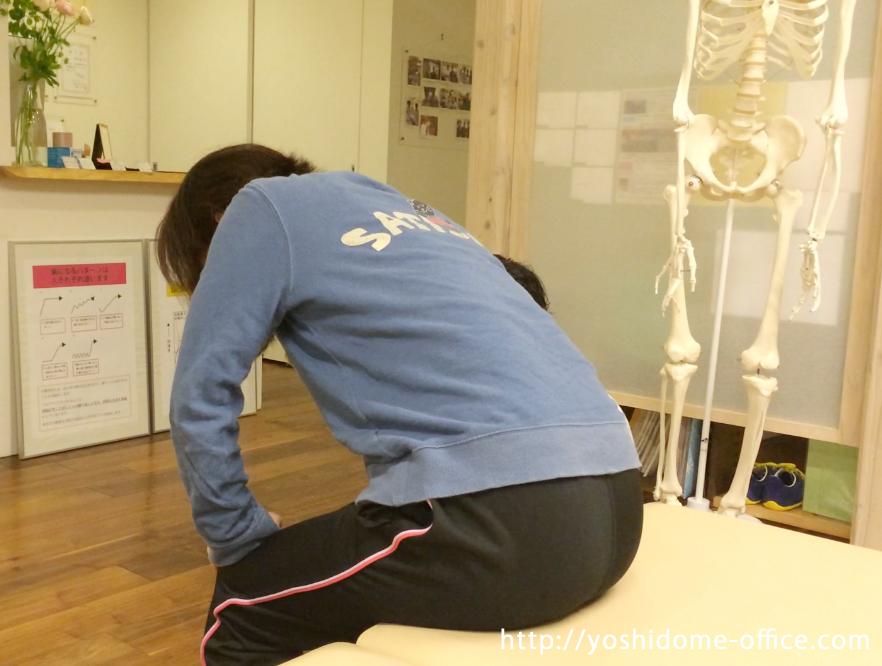 「ヘルニアと座骨神経痛と診断されて腰がつらいー2日目ー」40代女性