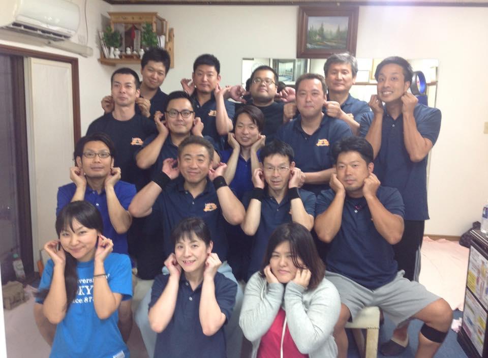 富山の南整体院で勉強してきました。