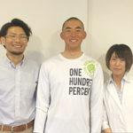 早田亮介くん(鹿児島実業高校)九州大会県予選優勝おめでとう!